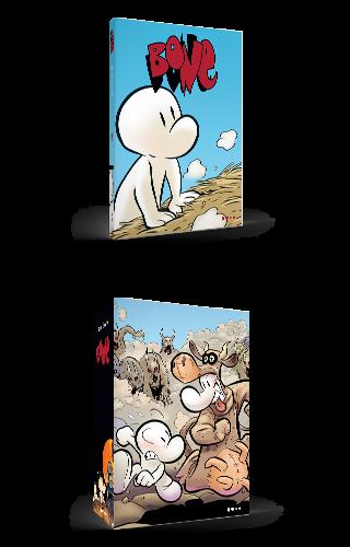 Bone #3: amigos & inimigos ou colheita + caixa avulsa - Jeff Smith